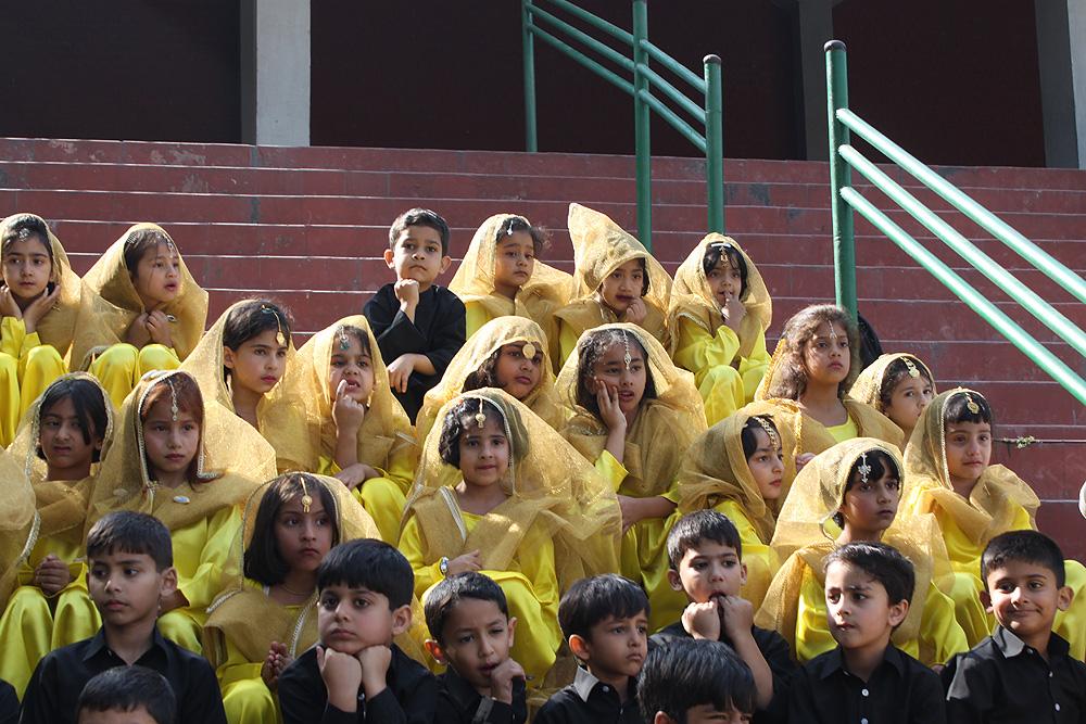 Participants posing for a photograph