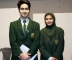 Elected Head Boy and Head Girl of the School