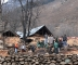 Visit to Frislan, Pahalgam - The village gutted in fire