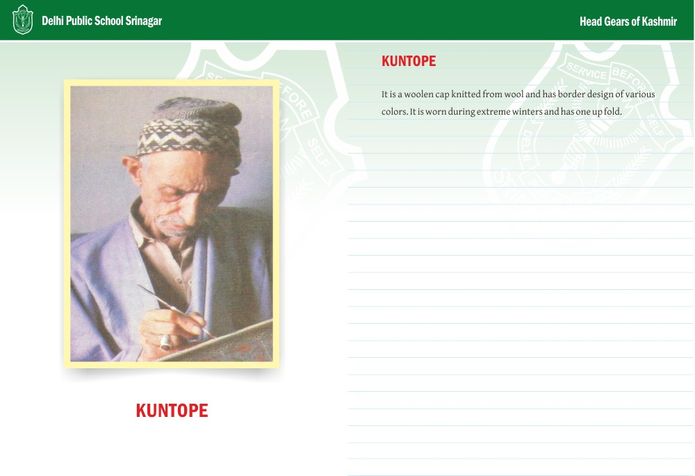 Kuntope - Head Gears of Kashmir Series