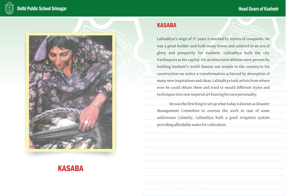 Kasaba - Head Gears of Kashmir Series