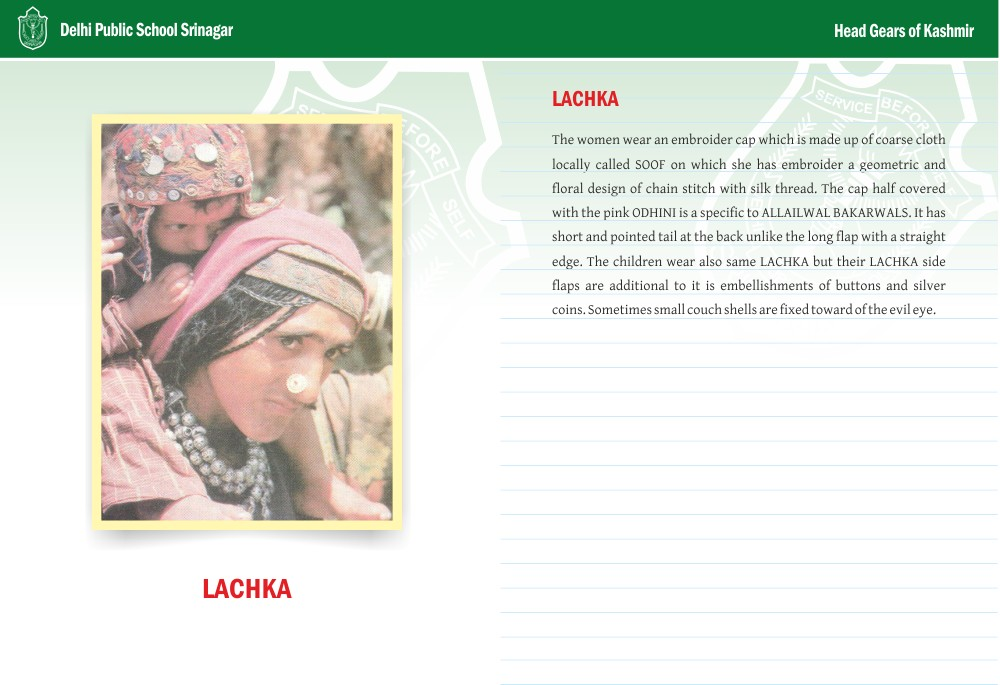 Lachka - Head Gears of Kashmir Series