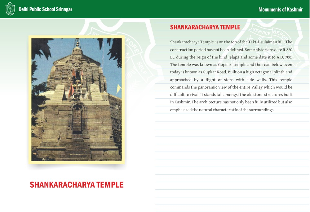 Shankaracharya Temple