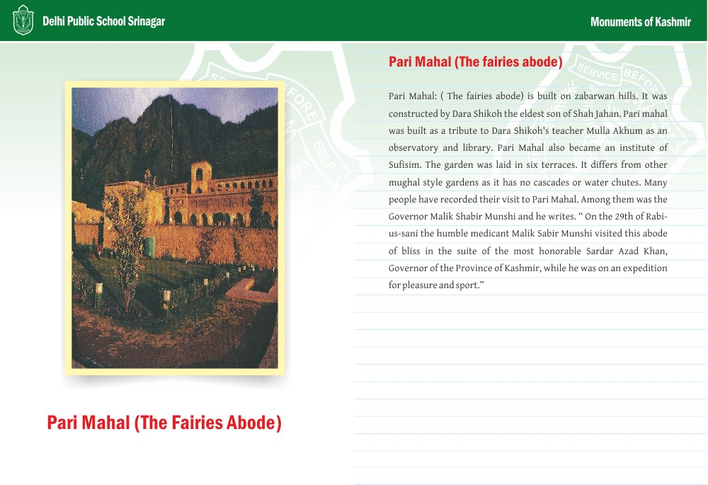 Pari Mahal (The fairies abode)
